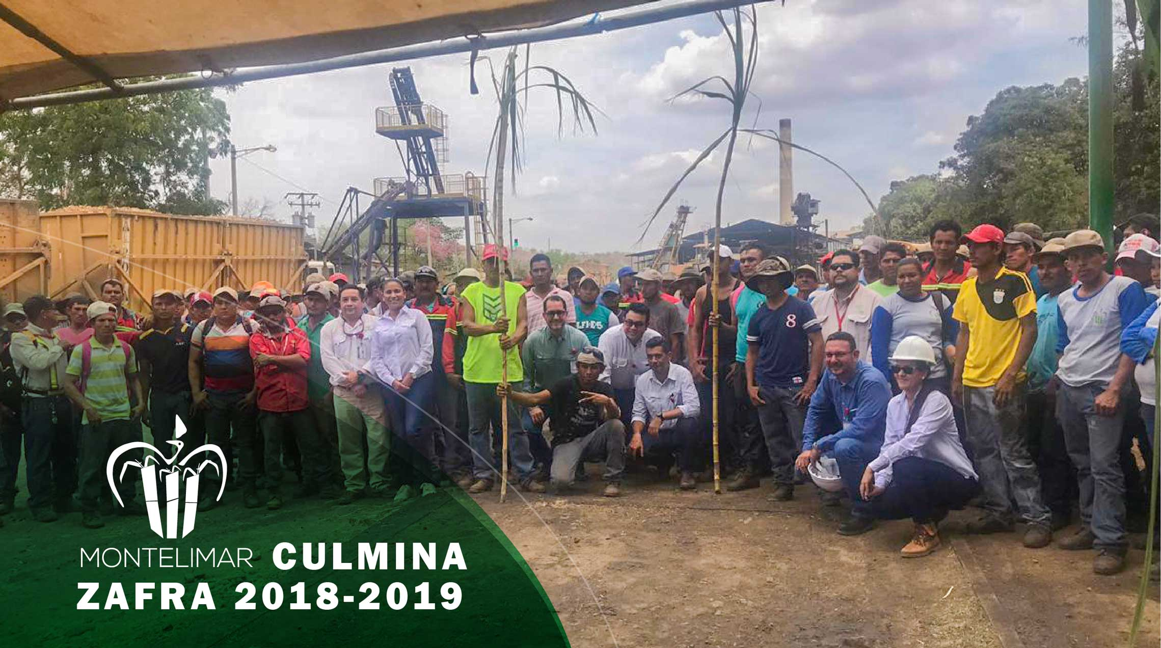 Montelimar culmina Zafra 2018 – 2019