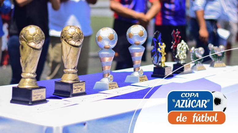 """Premiaciones Copa """"Azúcar"""" de Fútbol 2019"""