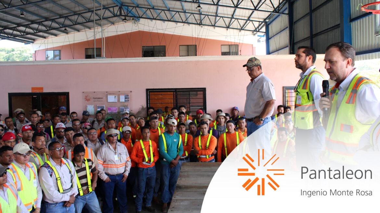 Ingenio Monte Rosa inicia zafra 2019/2020