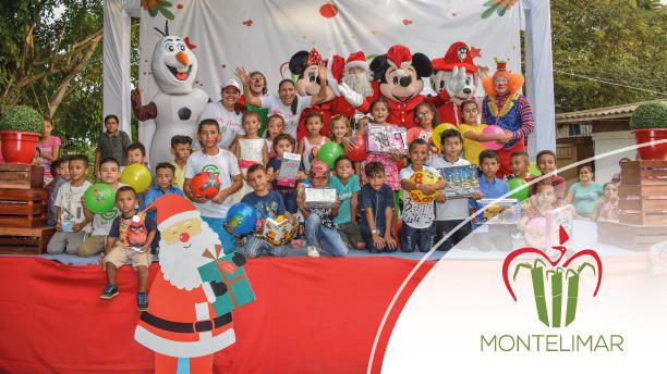 Ingenio Montelimar y Cogeneración Green Power regalaron sonrisas en esta navidad