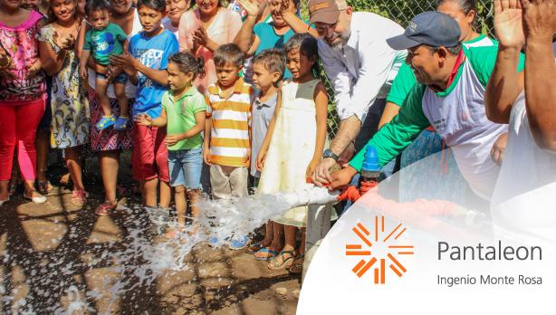 Inauguración de nuevo proyecto de agua potable
