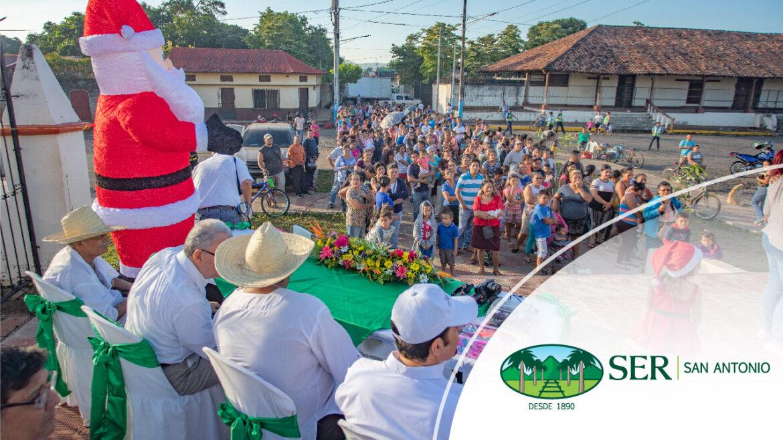 SER San Antonio lleva alegría a los niños de Occidente