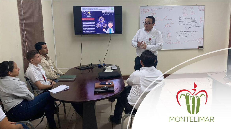 Corporación Montelimar ejecuta Estrategia de Prevención del COVID-19