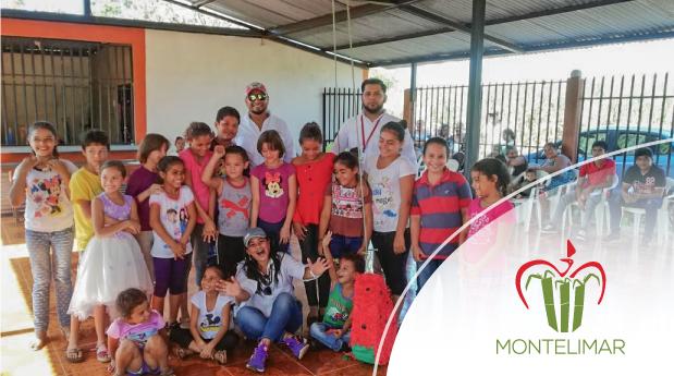 Corporación Montelimar entrega paquetes escolares en comunidades