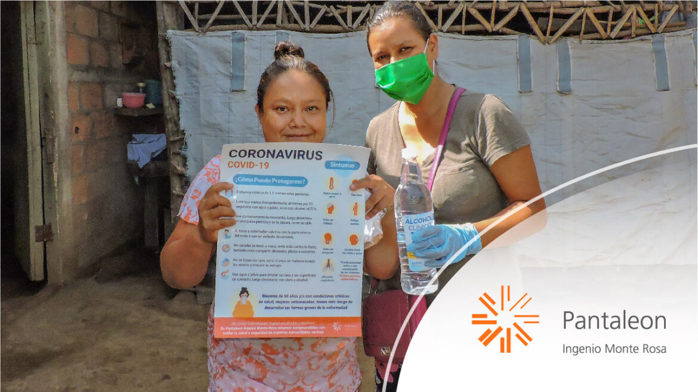 Campaña de prevención COVID-19 del Ingenio Monte Rosa en su segunda fase