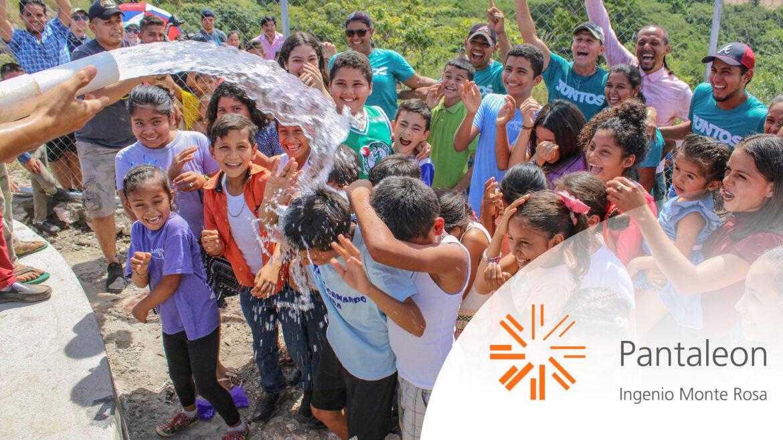Monte Rosa invierte en proyecto de agua potable