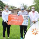 Entrega de donativos para unidades médicas