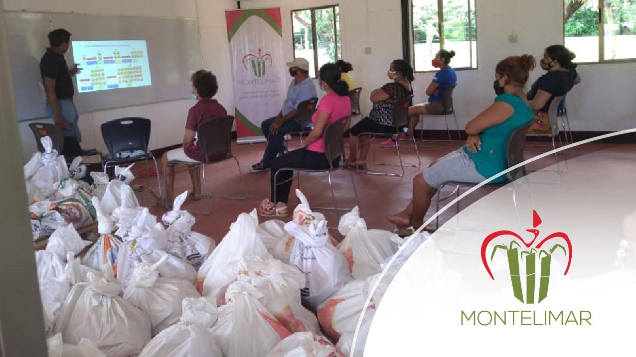 Corporación Montelimar en alianza estratégica con ANF entregó paquetes alimenticios a familias vulnerables