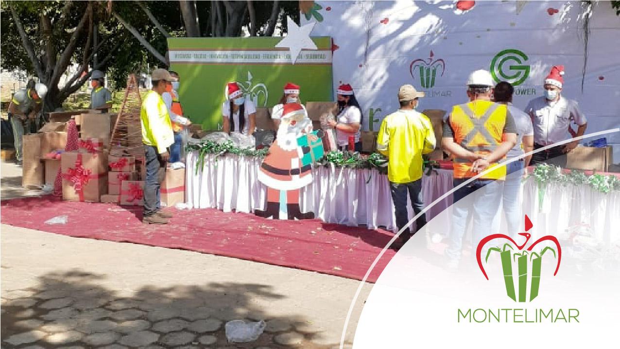 Montelimar y Green Power regalaron esperanza en Navidad