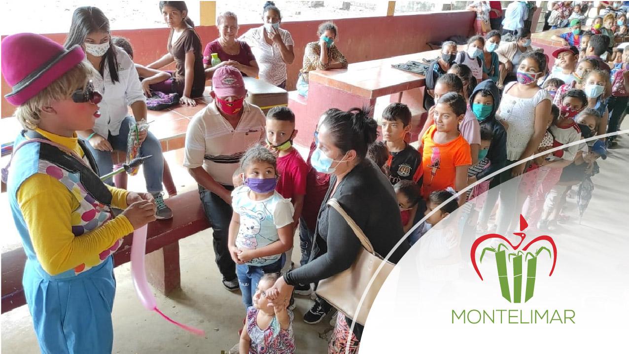Corporación Montelimar y Green Power iniciaron el año pintando sonrisas